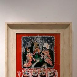 نمایشگاه منظومهی آرش کمانگیر   عکس