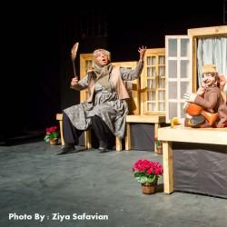 نمایش کمدی ملی (حکایت شیطنتها و عاشقانههای زنان اندرونی) | عکس