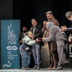 گزارش تصویری تیوال از اختتامیه سی و پنمین جشنواره تئاتر فجر (سری دوم) / عکاس: سید ضیاء الدین صفویان   عکس