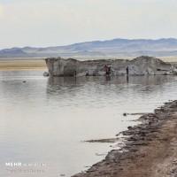 احیای دریاچه حوض سلطان | عکس