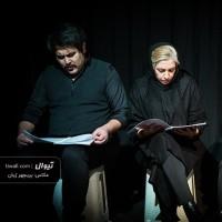گزارش تصویری تیوال از نمایشنامهخوانی واهِشته / عکاس: پریچهر ژیان   عکس