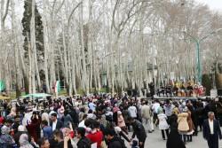 مجموعههای تاریخی تهران در نوروز به زانو درآمدند | عکس