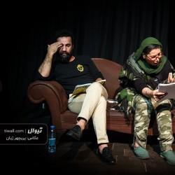 گزارش تصویری تیوال از نمایشنامهخوانی باغ وحش شیشه ای / عکاس: پریچهر ژیان | عکس