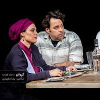 گزارش تصویری تیوال از نمایش نیمه تاریک ماه / عکاس: رضا جاویدی | عکس