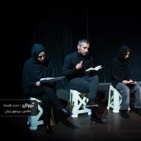 نمایشنامهخوانی دور از دسترس اطفال نگهداری می شود | گزارش تصویری تیوال از نمایشنامهخوانی دور از دسترس اطفال نگهداری می شود / عکاس: پریچهر ژیان | عکس