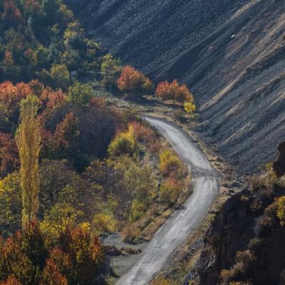 طبیعت پاییزی دامنه های الموت | عکس