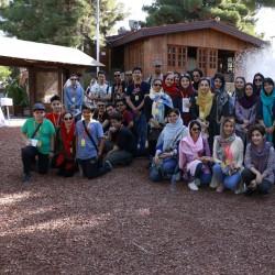 گردش تهرانگردی به زبان انگلیسی |باغ پرندگان| | عکس