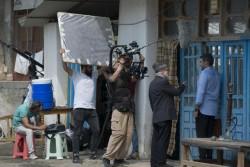 فیلمبرداری «سرزمین آبی» به نیمه رسید | عکس