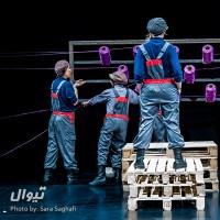 نمایش هفت دقیقه | گزارش تصویری تیوال از نمایش هفت دقیقه / عکاس: سارا ثقفی | عکس
