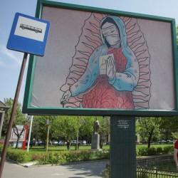 هنرهای خیابانی با الهام از کرونا | بخارست، رومانی