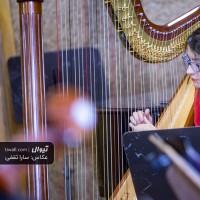 گزارش تصویری تیوال از تمرین ارکستر مانجین، سری نخست / عکاس: سارا ثقفی | ارسلان کامکار، ارکستر مانجین، سحر عباسی، هارپ، چنگ