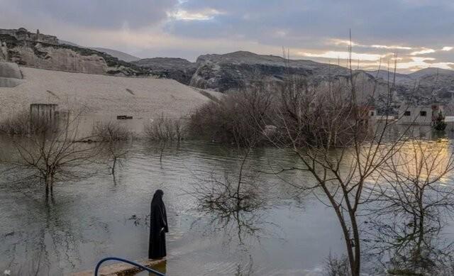شهر ۱۲هزارساله ترکیه زیر آب رفت | عکس