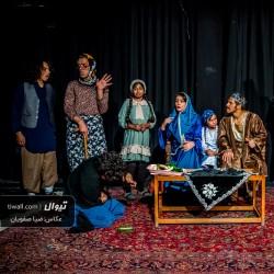 گزارش تصویری تیوال از نمایش معمای سلطان / عکاس: سید ضیا الدین صفویان | عکس