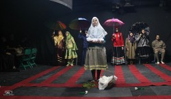 نمایش «کبوتری ناگهان» به روی صحنه  پلاتوی اجرا تئاتر شهر می رود | عکس