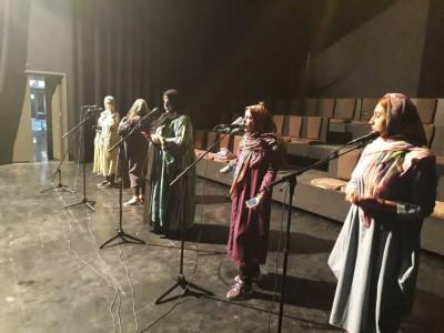 تولید نمایش های رادیویی با محوریت زندگی امام راحل در پردیس تئاتر تهران | عکس