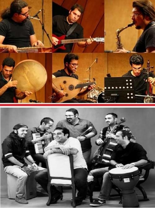 عکس کنسرت گروه اَوان/ گروه دال
