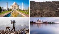 هشدار «دی کاپریو» درباره کوه زبالهها در هندوستان | عکس