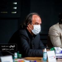 گزارش تصویری تیوال از نشست خبری جشنواره آنلاین هنر زنده است / عکاس: سارا ثقفی   عکس