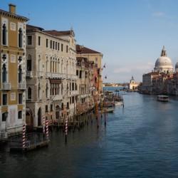 ایتالیا خالی از توریست | کانال بزرگ ونیز تقریباً در طول روز خالی است.