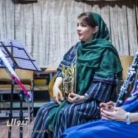گزارش تصویری تیوال از تمرین کنسرت سازهای بادی چوبی و برنجی، سری دوم / عکاس: سارا ثقفی | عکس