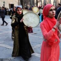 جشنواره انار اورامان در کاخ نیاوران | عکس