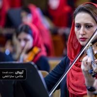 گزارش تصویری تیوال از تمرین ارکستر مانجین، سری نخست / عکاس: سارا ثقفی | ارسلان کامکار، ارکستر مانجین، شیرین تسلیم