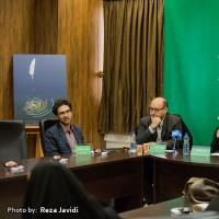 گزارش تصویری تیوال از نشست خبری نخستین جشنواره ادبی حیات / عکاس: رضا جاویدی | عکس