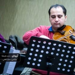 گزارش تصویری تیوال از تمرین کنسرت ارکستر لیلی یان / عکاس: سارا ثقفی | ارکستر لیلییان ، پیمان سلطانی
