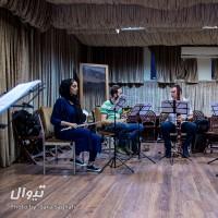 گزارش تصویری تیوال از تمرین کنسرت سازهای بادی چوبی و برنجی، سری نخست / عکاس: سارا ثقفی | کنسرت سازهای بادی چوبی و برنجی - نصیر حیدریان