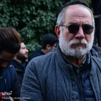 گزارش تصویری تیوال از مراسم تشییع پیکر حسین محب اهری / عکاس: آرمین احمری | عکس