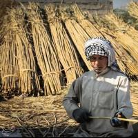 بوریا بافی، خوزستان | عکس