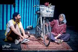 نمایش مرگ خنده دار یک دوچرخه سوار استقامت   استقبال و تحسین هنرمندان از نمایش