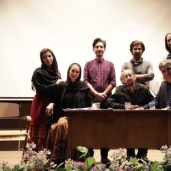 نمایشنامهخوانی مرگ در پاییز   عکس