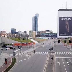 ایتالیا خالی از توریست | یکی از خیابانهای اصلی شهر میلان