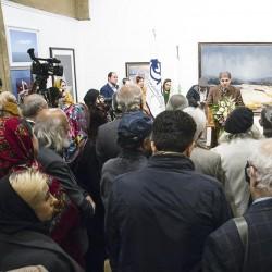 نمایشگاه هنرمندان پیشکسوت | عکس