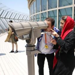 گردش تهرانگردی به زبان انگلیسی |برج آزادی و برج میلاد| | عکس