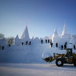 جشنوراه یخ هاربین | عکس