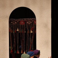نمایش رابعه، زخمه بر گیسوی نار | عکس