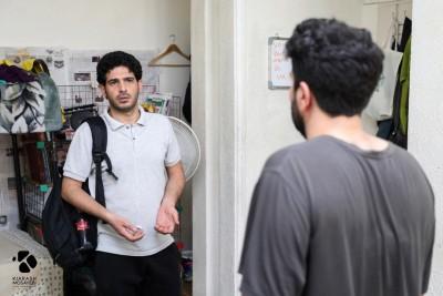 فیلم کوتاه «هشت تا هشت» به تهیهکنندگی امیر حسین اسدبیگی و سید صالح علوی زاده به مرحله تدوین رسید. | عکس
