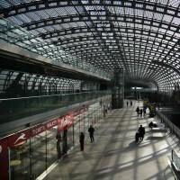 ایتالیا خالی از توریست | ایستگاه راه آهن شهر تورین