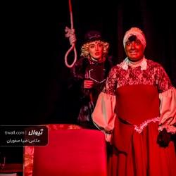 گزارش تصویری تیوال از نمایش رکوئیم برای یک راهبه / عکاس: سید ضیا الدین صفویان | عکس