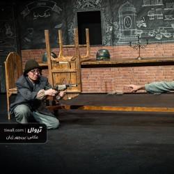 نمایش سه تفنگدار و یکی | عکس