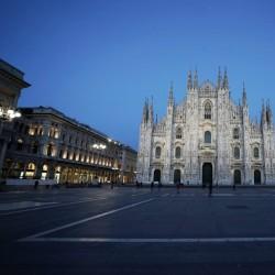 ایتالیا خالی از توریست | کلیسای «دومو» میلان