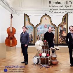 کنسرت رمبرانت تریو (هلند) و حسام اینانلو | عکس