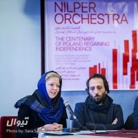 گزارش تصویری تیوال از نشست خبری کنسرت ارکستر نیلپر / عکاس: سارا ثقفی | ارکستر نیلپر، نوید گوهری، احسان تارخ