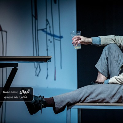 گزارش تصویری تیوال از نمایش جان و جو / عکاس: رضا جاویدی | عکس