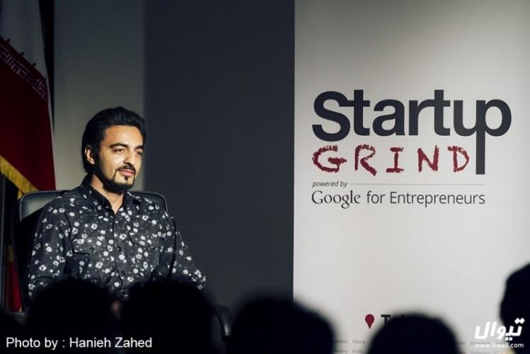 عکس رویداد نخستین اجرای استارتاپ گرایند در ایران با موضوع تیوال