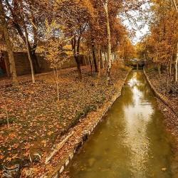پاییز در چهار باغ اصفهان | عکس