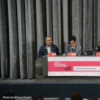 گزارش تصویری تیوال از چهارمین روز سی و دومین جشنواره فیلم کوتاه تهران (سری نخست) / عکاس: علیرضا قدیری   عکس