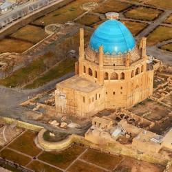 گردش یک سفر یک کتاب  تخت سلیمان همراه با علی شمس    گنبد سلطانیه